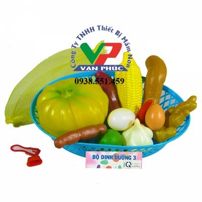 Bộ dinh dưỡng 3 ( rổ)