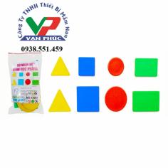 Bộ nhận biết hình phẳng (8CT)