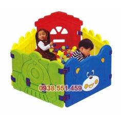 Nhà banh hình gấu mini