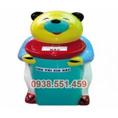 Thùng rác con gấu lớn