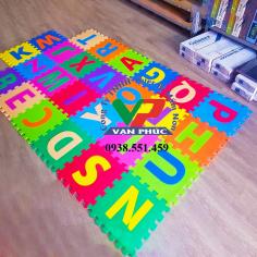 Thảm xốp 26 chữ cái